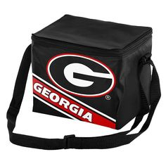 Forever Collectibles Georgia Bulldogs Lunch Bag Insulated Cooler, Multicolor