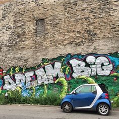 Bigger is only better when it comes to dreams. Photography by: Smart Fortwo, Smart Car, Big Love, Things To Come, Van, Dreams, Board, Vehicles, Photography