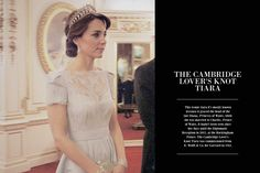 ofprincessandqueens:  Duchess of Cambridge in the (Cambridge) Lover's Knot Tiara