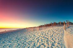 Cape Cod Sunrises: A Beautiful Sunrise at The Nauset Beach in Cape Cod Today. Photo by Dapixara https://dapixara.com