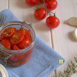 Confettura di pomodorini canditi, ricetta facile e gustosa