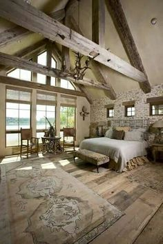 This bedroom! I would never leave!