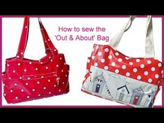 How to sew a Tote / Carry All Bag - YouTube