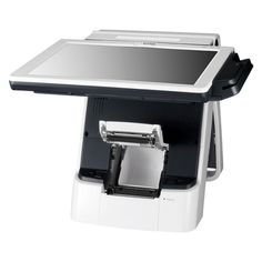 POSBank Adjustable Screen and Integrated Printer - IMPREX POS
