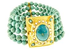 Paradise Found Turquoise Bracelet