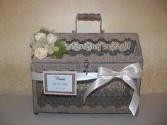 Wedding Card box / Chicken Wire Box / Rustic Wedding Card Holder / Rustic Wedding Decor. $60.00, via Etsy.
