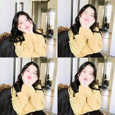 Good Day Bomin Kpop Girl Groups, Kpop Girls, Cool Girl, My Girl, Fans Cafe, Ulzzang, Cool Baby Stuff, Good Day, Ruffle Blouse