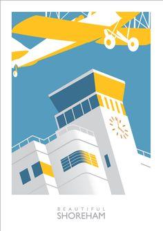 My Shoreham Airport Poster