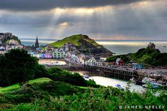 Ilfracombe on the Devon Coast in England by James Neeley