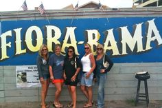 Florabama in Orange Beach Alabama.... Don't forget to hang your bra on the line!  Loved it!