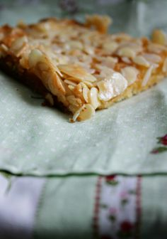 Sheet Cake with Almonds
