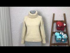 Boğazlı Alpaca Kazak 38-40 Beden - YouTube Fitness Inspiration, Turtle Neck, Youtube, Sweaters, Fashion, Moda, Fashion Styles, Fasion, Sweater