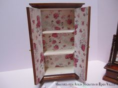 1:12th Scale Miniature Dollhouse Armoire by MiniaturesfromAvalon