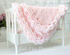 Crochet Baby Blanket PATTERN 100 Iris Crochet by CaliChicPatterns