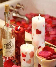 Romantic Candles DIY