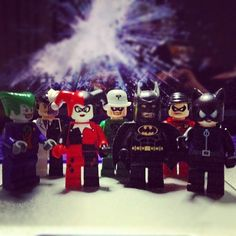 My toys! #lego #batman