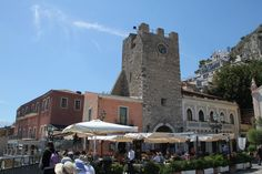 Moorish tower Piazza Aprile Taormina - See more at: http://chambersarchitects.com/blog/248-taormina-sicily-refuge-for-ancients-artists-and-writers.html#sthash.V6tcTDnP.dpuf And read all of our blogs at: http://chambersarchitects.com/blog.html