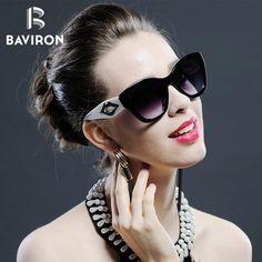 #SUNGLASSES #NEW BAVIRON Mouth Design Fashion Sunglasses For Women Brand Designer Luxury Big Frame Fashion Sun Glasses Cool Gradual Eyewear…