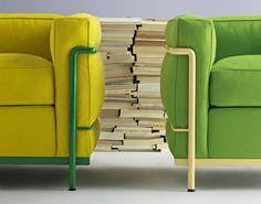 Nieuwe look LC 2 chair, Le Corbusier