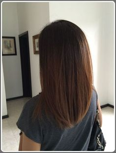 Long Bob Ombre Hairstyle 2016