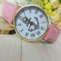 Pink Anchor watch
