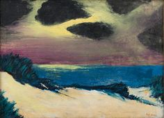 © Emil Nolde - North Sea Dunes