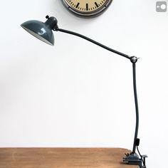 Kaiser Idell 6579 industrial desk lamp; Christian Dell, Bauhaus, 1930s