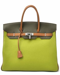 f50ad44ba98 Hermes Multicolor Togo Leather HAC Birkin PHW Hermes Bags