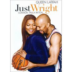 Just Wright Directed by Sanaa Hamri. With Queen Latifah, Common, Paula Patton, James Pickens Jr. A physical therapist falls for the basketball player she is helping recover from a career-threatening injury. Queen Latifah, Paula Patton, Old Movies, Great Movies, Movies 2019, Vintage Movies, Black Romantic Comedies, James Pickens Jr, Bon Film