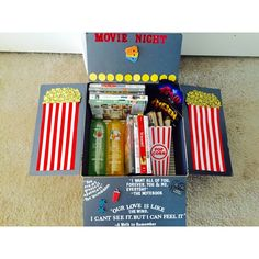 Second care package made for the man. {movie theme}