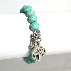 Elephant charm bracelet – Jc & Crew Turquoise Bracelet, Elephant, Charmed, Amp, Bracelets, Accessories, Jewelry, Jewlery, Jewerly