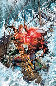 Aquaman vs Arraia Negra