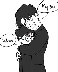 Tom realises that Harry is his horcrux~ Tomarry art by p0nnu