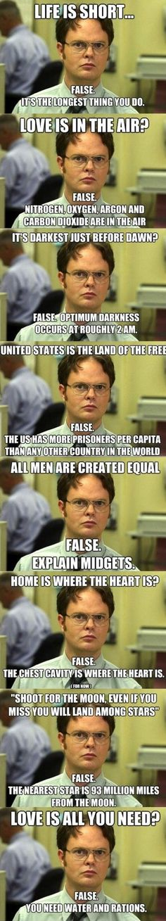 Gotta love Dwight