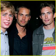 Paul Walker Breaking News, Photos, and Videos | Just Jared