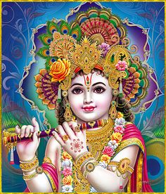 """☀ SHRI KRISHNA ॐ ☀ Shri Krishna said: """"The splendor of the sun, which dissipates the darkness of this whole world, comes from Me. And the splendor of the moon and the splendor of fire are also from Me.""""~Bhagavad Gita as it is 15.12 Please listen to..."""