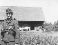 This Estonian volunteer served in the Waffen-SS Wiking division