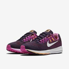 Nike Nike Air Max Plus Running Shoes White Laser Fuchsia Tropical Twist from Champs Sports | Real Simple