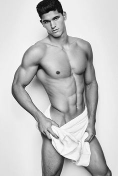 Trevor Siggs - Mario Testino towel series