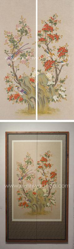 Vintage World Maps, Oriental, Ceramics, Flower Art, Painting, Art, Korean Painting, Glass Art, Folk