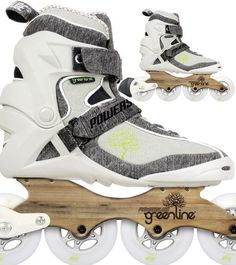 Powerslide Phuzion Greenline 3 Fitness Inline Skate Are Eco Friendly