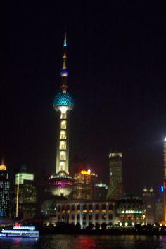 Shanghai at night, China, www.summerstudytour-china.com