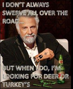 This is definitely my hubby when we're out driving the back roads haha