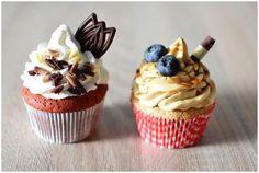 Z mafiny sa môže stať za chvíľku krásny a chutný koláčik. Cupcakes, Dessert Recipes, Desserts, Food And Drink, Sweets, Restaurant, Tailgate Desserts, Deserts, Goodies