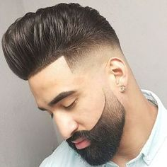 Browse for the coolest haircuts for men 2017 - Our best guide for those who are searching the new men's hairstyles. Beard Styles For Men, Hair And Beard Styles, Short Hair Styles, Cool Haircuts, Haircuts For Men, Dress Hairstyles, Cool Hairstyles, Trending Hairstyles, Latest Hairstyles