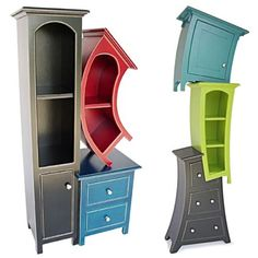 Awesome Elegant Surreal Storage for your Attractive Living room Decoration