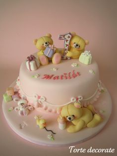 Baby Bears Cake