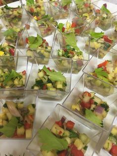 Vegetable and Herb Ceviche