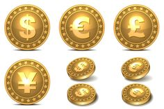 Coins icons set by in8finity on @creativework247