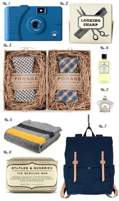 Packaging (the bow ties) <3 the shredded paper- eco-friendly?? Poppytalk: Father's Day Gift Guide - Part One